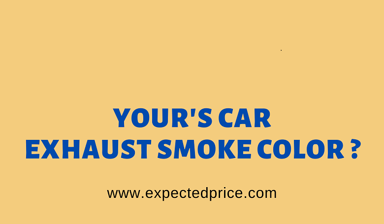 Photo of What color should Car Exhaust Smoke be?