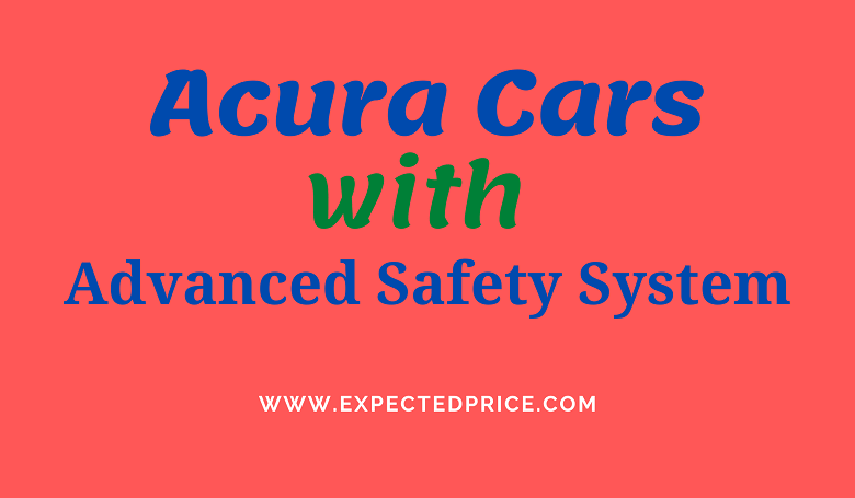 Photo of Acura Cars with Advanced Safety System