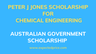 Photo of Peter J Jones Scholarship for Chemical Engineering