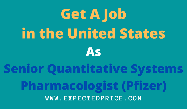 Photo of Get A Job In Pfizer (United States)