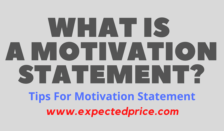Photo of What is Motivation Statement?