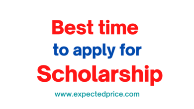 Photo of Best time to apply for a scholarship