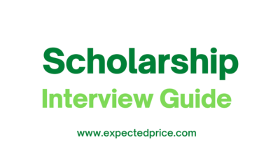 Photo of Scholarship Interview Guide