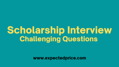 Photo of What should Answering Challenging Questions in a Scholarship Interview
