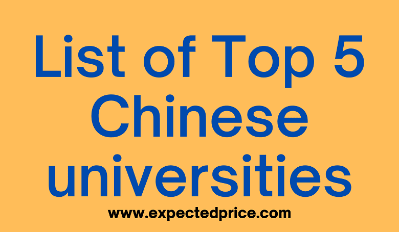 Photo of List of Top 5 Chinese universities that offered Scholarships for International Students